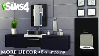 More Decor  Bathrooms  NOCC or Mods  Ep3