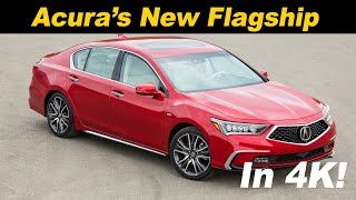 2018 Acura RLX Sport Hybrid First Drive Review In 4K UHD