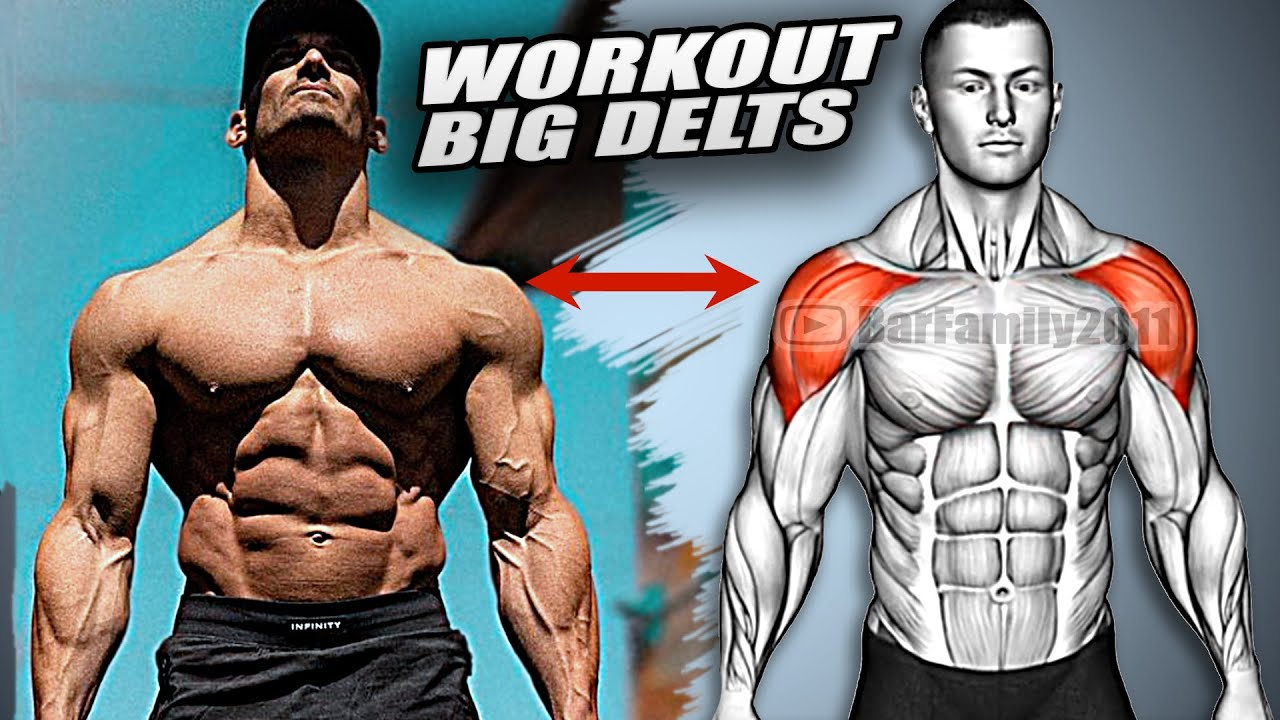 How to Build A Massive Shoulders (BIG DELTS WORKOUT)