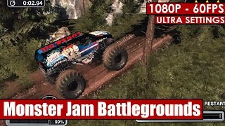 Monster Jam Battlegrounds gameplay PC - HD [1080p/60fps]
