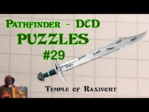 Pathfinder D&D Puzzles #29 - The Temple of Raxivort