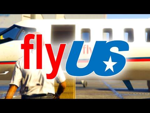 flyUS - TV COMMERCIAL (GTA 5)