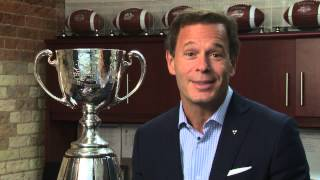 Canadian Football League Commissioner Mark Cohon thanks all who served courageously in Afghanistan