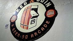 Keg N Coin soft opening 1 in Jacksonville FL  (arcade bar with pinball)