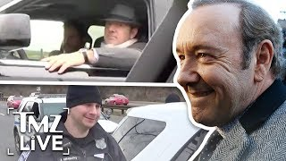 Kevin Spacey Pulled Over AFTER Court Appearance | TMZ Live