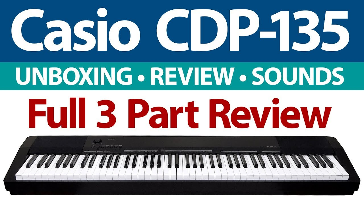 best digital piano value casio cdp 135 cdp 130 keyboard review demo. Black Bedroom Furniture Sets. Home Design Ideas