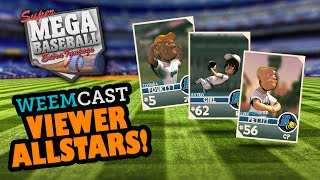 Super Mega Baseball Extra Innings (PC) Gameplay - Viewer Allstars!