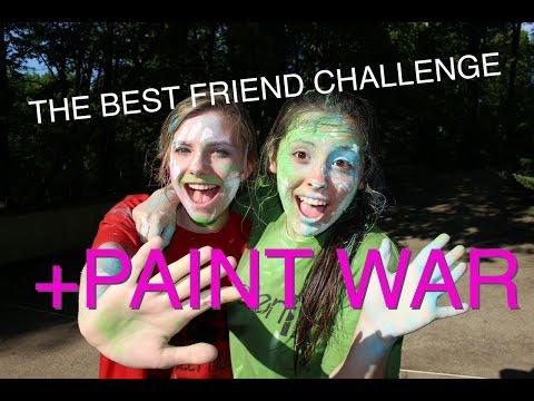 THE BEST FRIEND TAG PAINT WAR