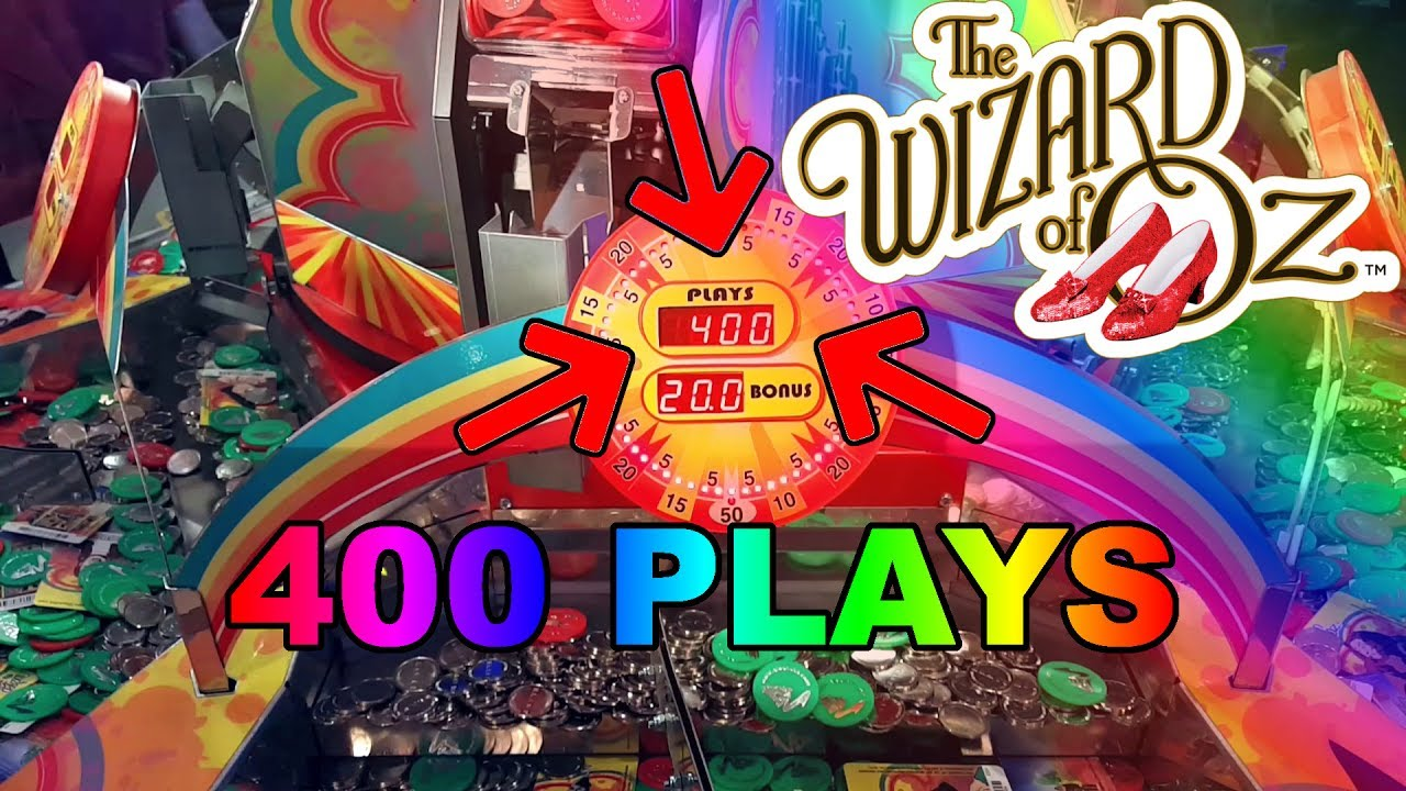 Wizard of Oz Coin Pusher - 400 Plays
