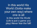 His World (Zebrahead version) lyrics