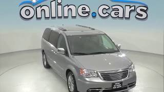 A96889TA Used 2016 Chrysler Town & Country Touring-L Passenger Mini Van Silver Review, For Sale