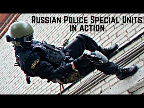 СОБР и ОМОН в действии • Russian Police Special Units In Action