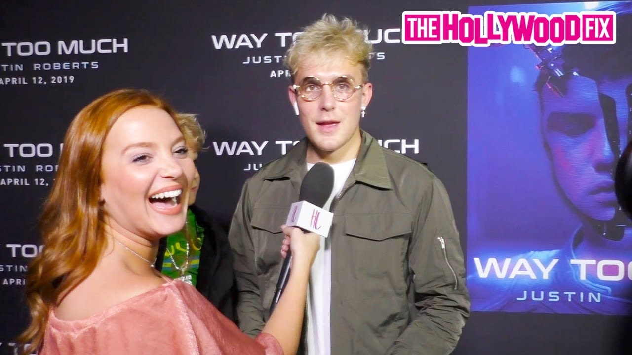 Jake Paul Speaks On Fighting His Brother Logan At Justin Roberts 'Way Too Much' Video Premiere Party