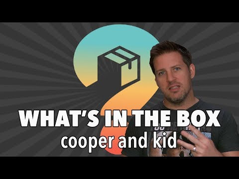 Cooper and Kid, Quiet on Set! - What's In The Box
