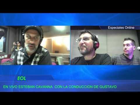 Esteban Cavanna en EOL (Especiales OnLine) Radio Palermo