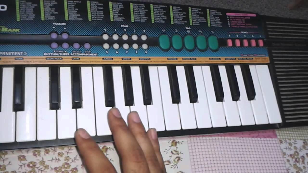Piano Keyboard Tutorial 6 - Play G major Scale - YouTube