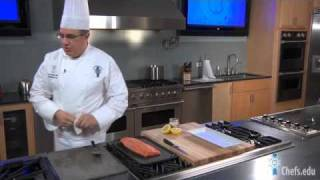 Simple Grilled Salmon Recipe from Master Chef Ed Leonard