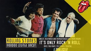 Смотреть музыкальный клип The Rolling Stones - It's Only Rock 'n Roll (Voodoo Lounge Uncut)