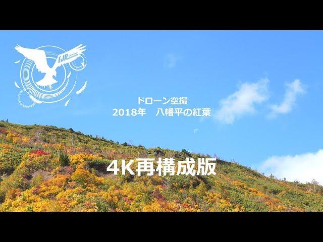 2018八幡平紅葉再構成【4K】動画版
