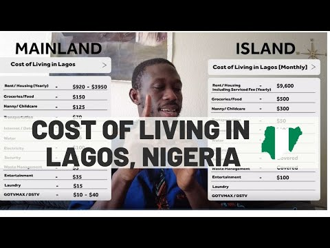 Cost Of Living In Lagos Nigeria ( Detailed Monthly Budget )