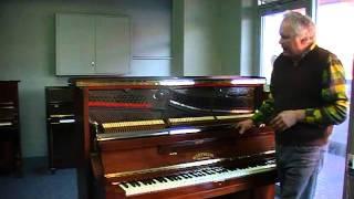 Wertheim Grey Frame piano (SOLD)