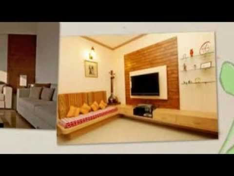 Look home design interior design living room india youtube for Small apartment interior design india