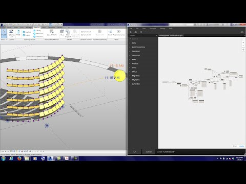20150305 Tutorial Dynamo Folding Panel Sun Script