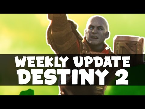 DESTINY - WEEKLY UPDATE! DESTINY 2 NEWS! SERVER MAINTENANCE, REAL LIFE HUNG JURY SR4?! + MORE!