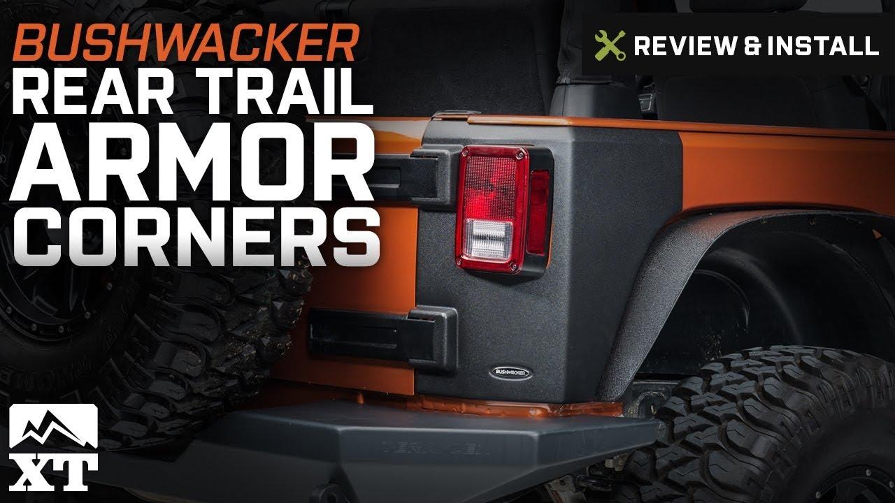 Bushwacker Trail Armor Rear Corners 14009