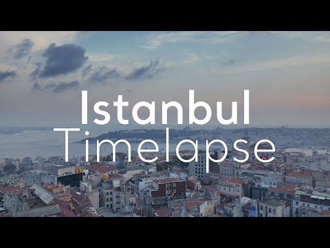 Istanbul Timelapse – A week in Turkey