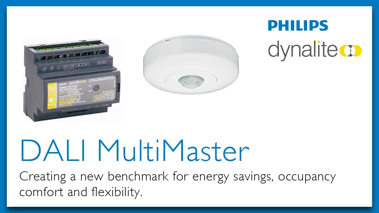 maxresdefault dali multimaster by philips dynalite youtube philips dynalite wiring diagram at panicattacktreatment.co