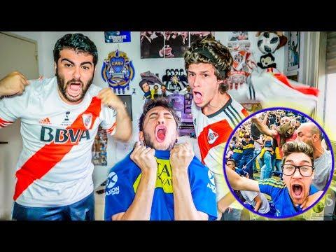 Boca vs River | FINAL IDA Copa Libertadores 2018 | Reacciones de Amigos