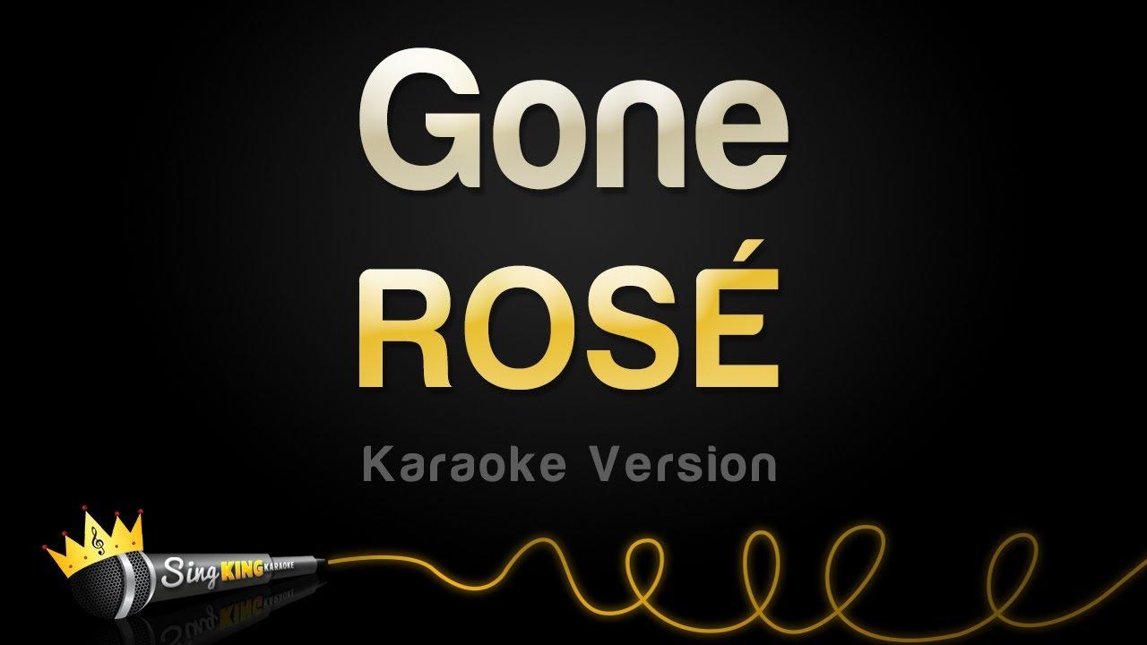 Download ROSÉ - Gone (Karaoke Version)