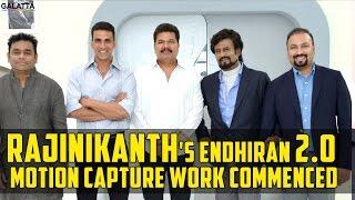 #Rajinikanths #Endhiran 2.0 Motion Capture Work Commenced