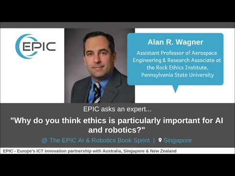 EPIC Asks an Expert: Why do you think ethics is particularly important for AI and robotics?