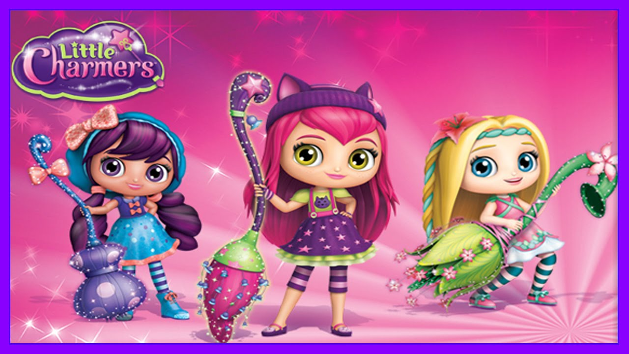 Little Charmers Cartoon Game Little Charmers Nickelodeon