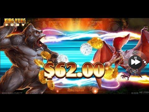 КАЗИНО онлайн,NEW слот:King Kong Fury.Тестируем,Кинг Конг!Лицензированное казино!
