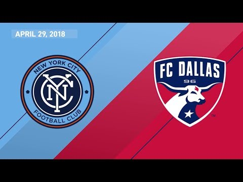 HIGHLIGHTS: New York City FC vs. FC Dallas | April 29, 2018
