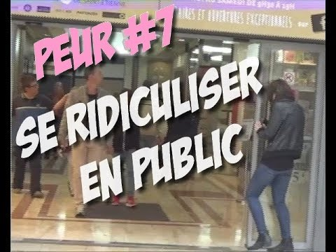 COMMENT SE RIDICULISER EN PUBLIC