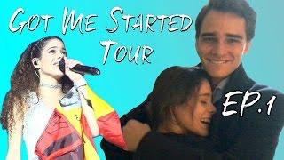 Got Me Started Tour - EP1: Comienza el GMS Tour + Sorpresa a PEPE #TiniYoutube | TINI