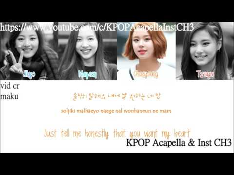 [Acapella] TWICE (Tzuyu,Nayeon,Jihyo,Chaeyoung) - Daring Woman (당돌한 여자)