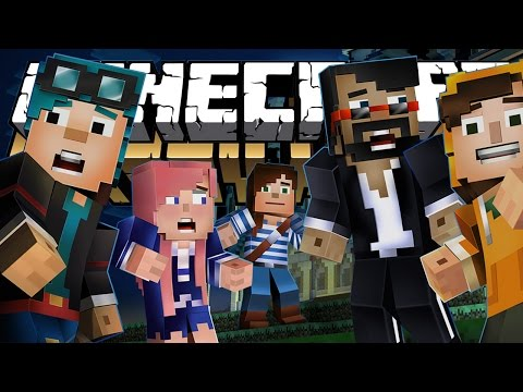 Minecraft Story Mode: Episode 6 (Full)   LOTS OF YOUTUBERS!