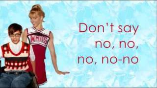 Repeat youtube video Glee - Marry You Video Lyrics