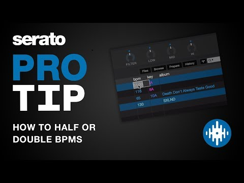 How to Half or Double BPM | Serato Pro Tip