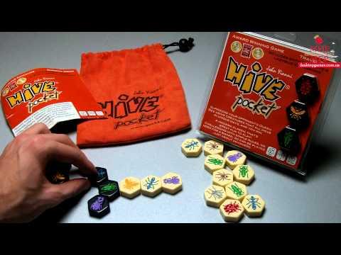 Hive Pocket. Обзор настольной игры от Мира Настольных Игр