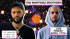 The Martinez Brothers (Livestream)