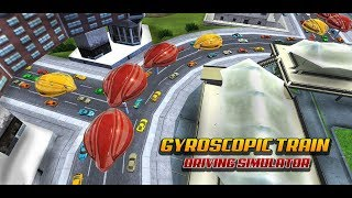 Gyroscopic Train Driving Simulator Railroad Game