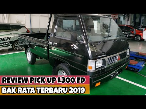 Review Pick Up L300 Bak Rata/FD Terbaru 2019 - Spesifikasi Mitsubishi Flat Deck Bed