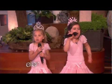 Sophia Grace's  Stopping Performance!