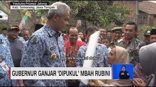 Gubernur Ganjar Pranowo 'Dipukul' Mbah Rubini